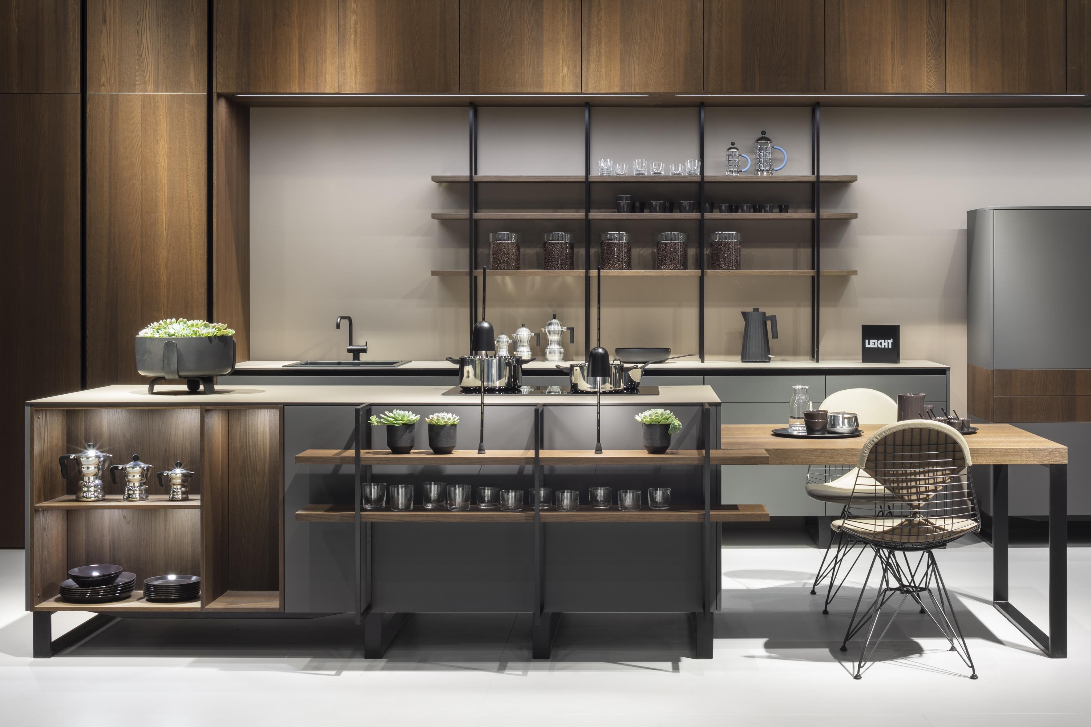Кухня leicht barista
